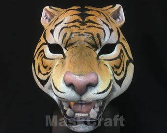 Tiger mask from Pay Day, Hot Line Miami by MASKCRAFT