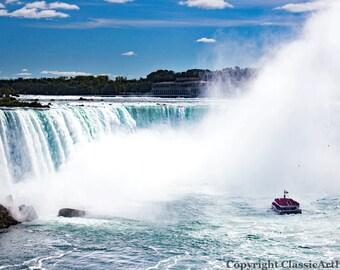 Niagara Falls Print, Niagara Falls, New York Photography