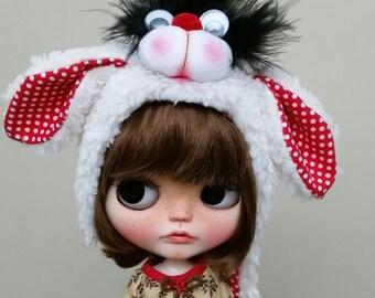 Blythe Kitty hat, cat hat Blythe