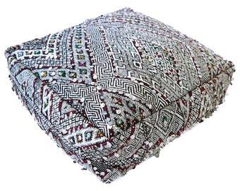 Moroccan Floor Cushion  - 27 - '23.6 x 23.6 x 7.9 inch''