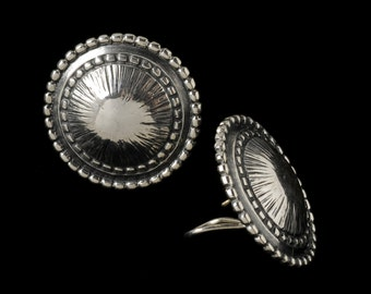 Pod Earrings, B.C. Silver Collection     6319S