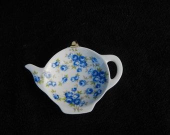 Bag Holder: Hand Decorated Porcelian