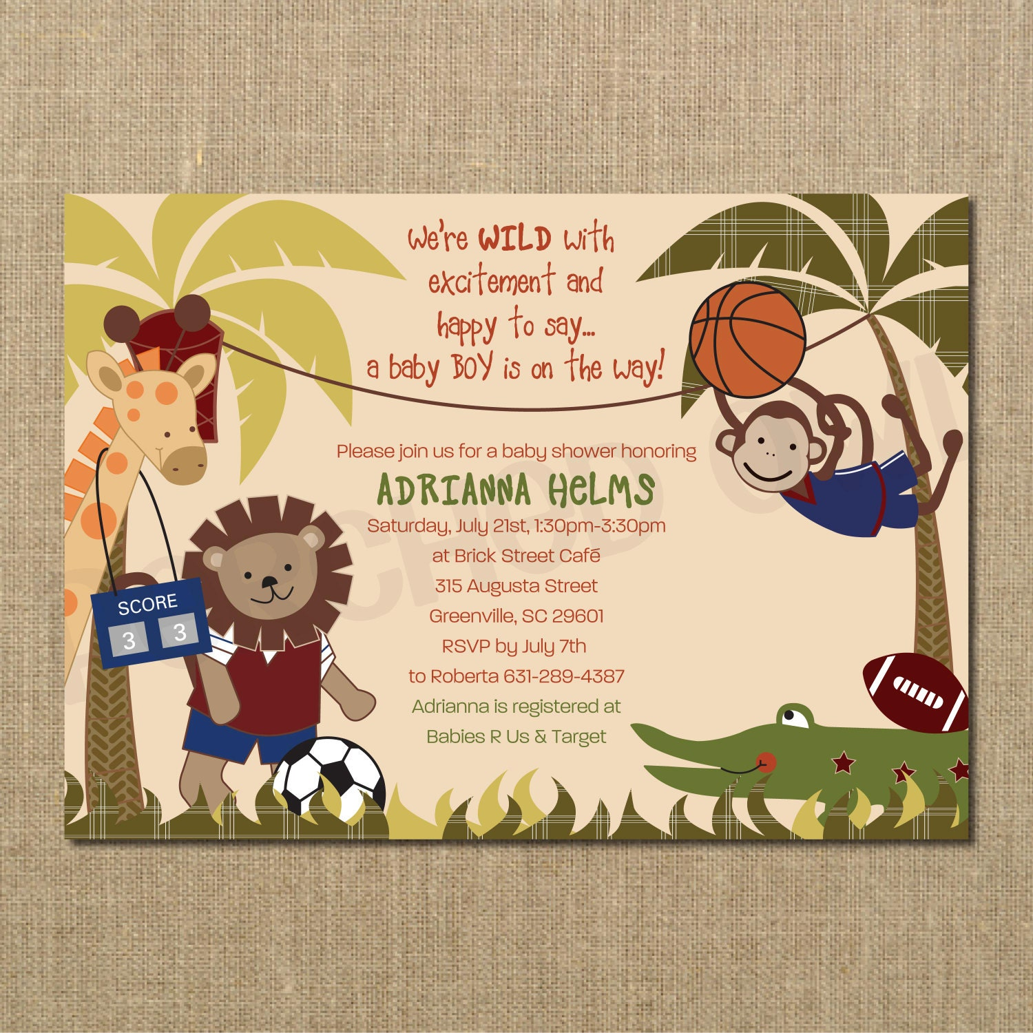 shower invitation luxury lovely safari of invitations theme printable baby jungle