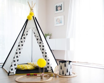 Teepee PLUS, teepee kids, kids play, tent, tipi, wigwam, childrens teepee, teepee for kids, nordic, vigvam