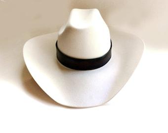 handmade leather hatband