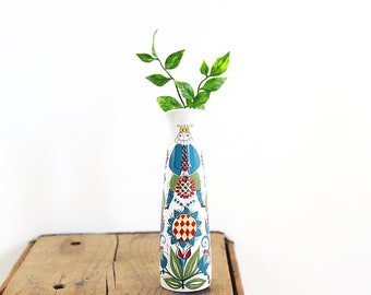 Mid Century Modern Figgjo Flint Pitcher / Vintage Scandinavian Pitcher / Saga Norway Ceramic Pitcher / Mid Century Ceramic Vase