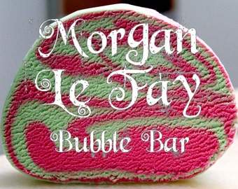 Morgan LeFay DOUBLE BATCH Bubble Bar (Green Apple & Red Raspberry Scent) Arthurian Legend Bath Bubble Fragrance Lush Luxury Gift Steampunk