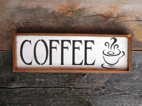 Cafe sign kitchen signs and home decor diner restaurant