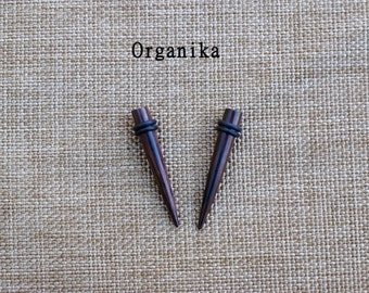Wood 10mm (00g) - Expanders - pair