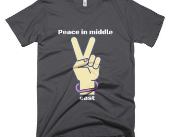 Let's change the Middle East | Unisex T-Shirt | Clothing | Match | Mini Me | Shirts | Tops and Tees | For Gift | Unisex | Ringer T-Shirt