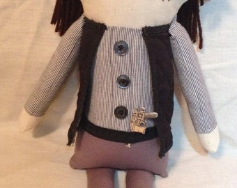Eugene - Inspired by TWD - Creepy n Cute Zombie Doll (D & P)