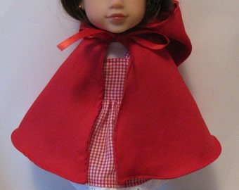 Little Red Riding Hood outfit for Corolle Les Cheries or Hearts for Hearts Girls