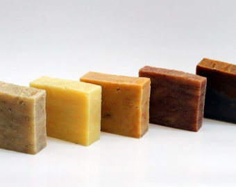 Set of 3 Handcrafted Soap Bars 4.5 oz each (SUCHA)