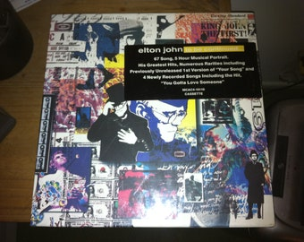 Elton John vintage Cassette Tape Music Set - 5 hours Greatest Hits, Rareties  & Unreleased - To be continued...