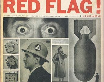"Red Flag! Cold War Survival Zine 11"" x 14"""