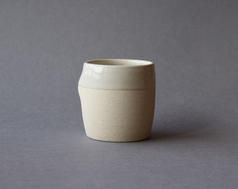 Thumb Cup - Butter Glaze