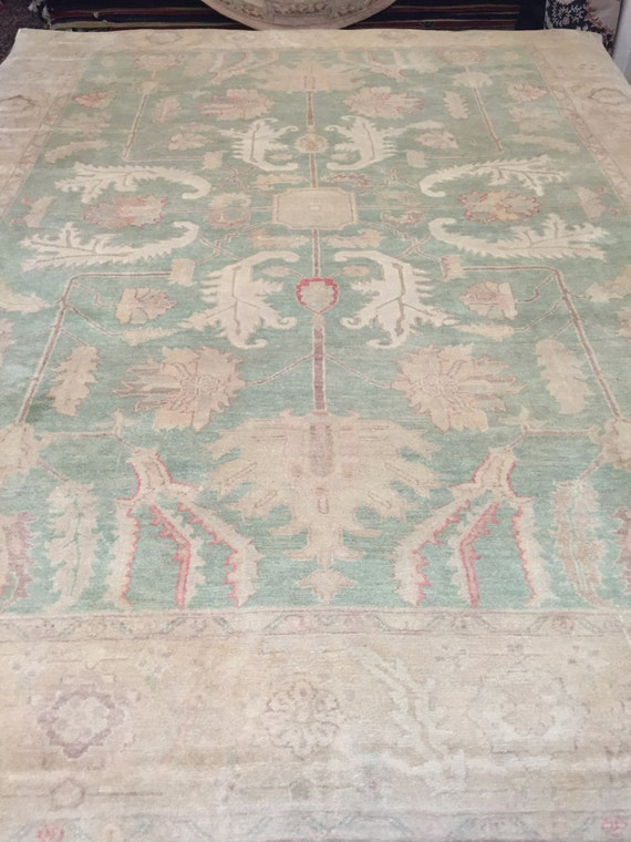 """8'3"""" x 10'7"""" Egyptian Oriental Rug - Hand Made - Antique Look - 100% Wool"""