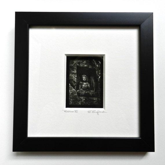 Buddha Art Framed Photography Shadowbox Frame Buddha Wall