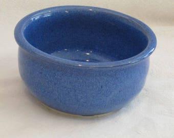 Glossy blue Nut bowl