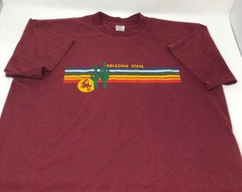 Vintage Arizona State University Sun Devils T shirt XL