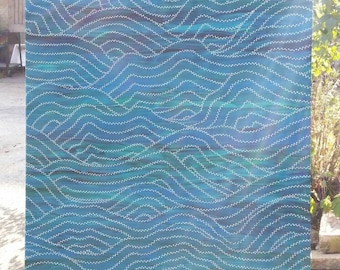 "Original Painting ""Improvisation N*02 - Waves"""