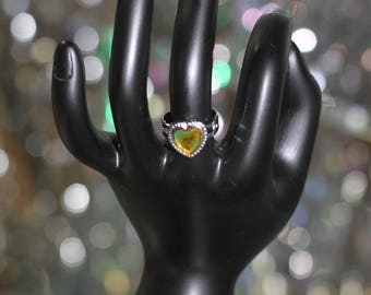 Heart Mood Ring Size: 4
