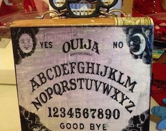 Ouija Board Cigar Box Purse
