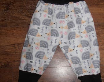 Babies/toddlers  Hedgehog cotton & jersey knit Harem pants/joggers/trousers