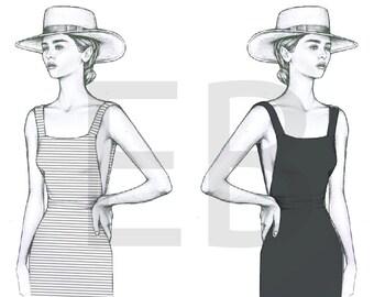Fashion Illustration - Celine Mirror Image