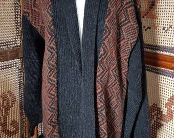 Seventies maxi coat/cardigan