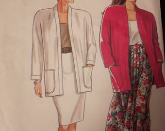 Simplicity 9837, Jacket and Skirt Pattern