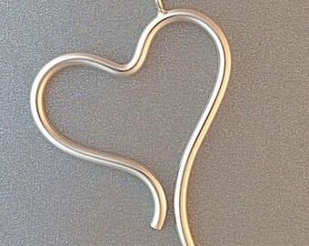Wave Heart Pendant