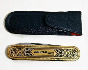 Solingen pocket knife, Bauer pocket knife, Vintage folder, collectible knife, Slim Foldable Knife, Pen Knife, Knife Brass Knife Collectible