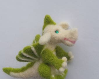 Dragon,needle felted toy