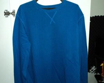 Blue Sweater V-Neck XL