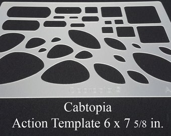 Template Action...Cabochon, Lapidary, Jewelry