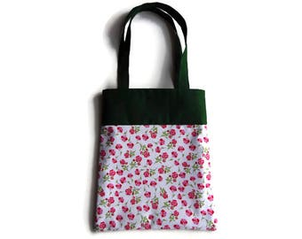 Flower Goodie Bag - Gift Bag - Mini Tote