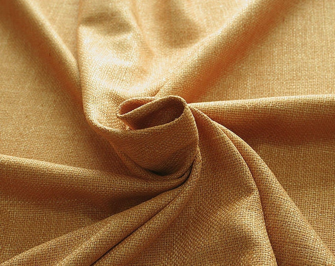 452044-natural Silk Rustic 100%, wide 135/140 cm, made in India, dry-washed, weight 312 gr