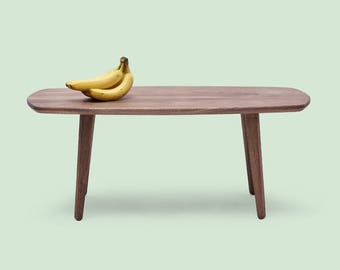 Solid Wood Coffee Table - Walnut