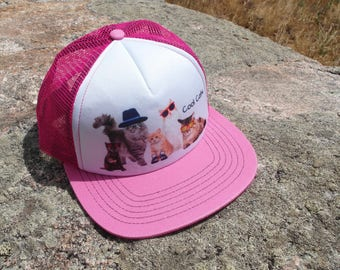 Cool Cats- Kids Trucker Hat. Inspired by Youth and Designed in Colorado!