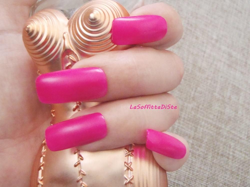 hot pink fake nail tips dark pink semi matte press on nail art
