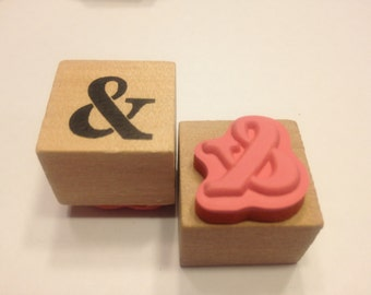 large & sign rubber stamp, 20 mm (HR45)
