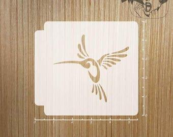 Tribal Bird 783-251 Stencil