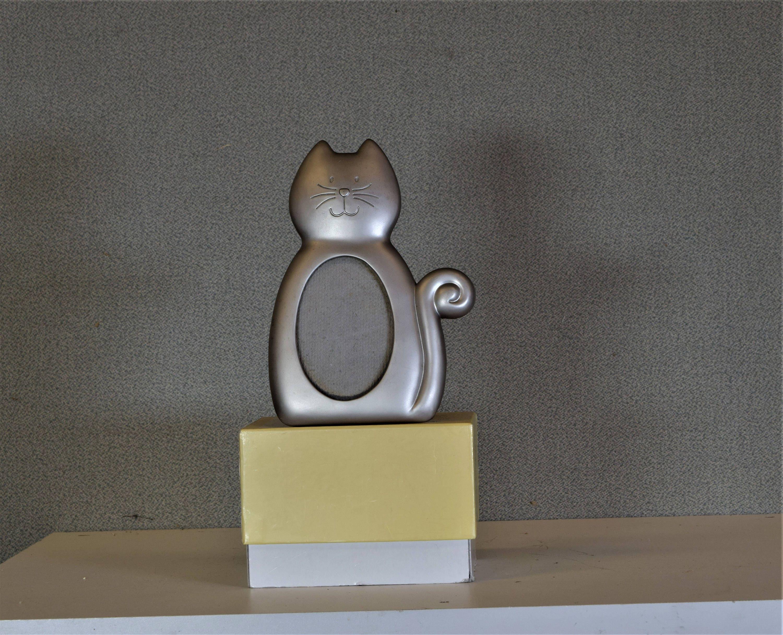 2 1/2 x 3 1/2 Rahmen Oval Katze Bilderrahmen mit Glas und