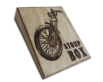 Motorcycle Stompbox Rhythm Foot Drum Stomp Box
