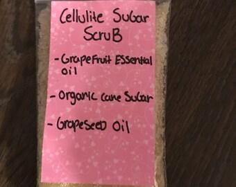 grapefruit cellulite scrub