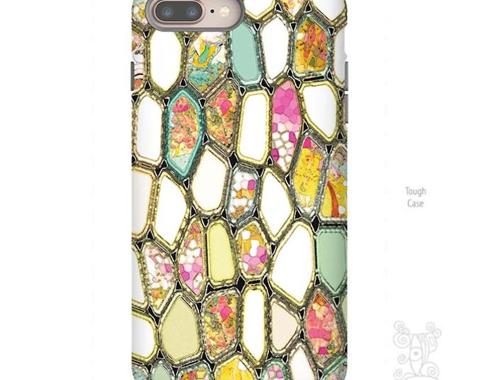 Featured listing image: Cells, Geometric Phone Case, galaxy S8 Case, iPhone 8 case, iPhone 8 plus case, iPhone X case, iPhone 7 plus case, iphone 7 case, cells case