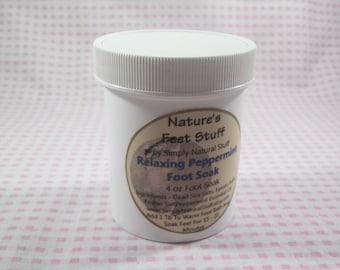 Exfoliating Peppermint Foot Soak 4 oz
