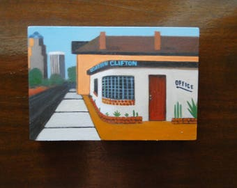 Downtown Clifton - North (4x6)