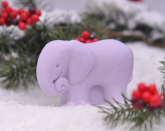 Elephant Soap, scented with essential and fragrance oils,handmade soap, Vegan Soap,